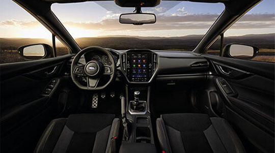 All-New Subaru WRX Interior