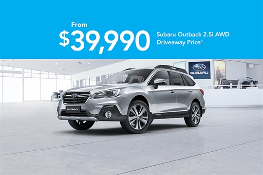 Outback AWD Offer