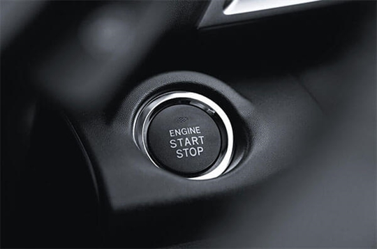 Smart key and push-start ignition