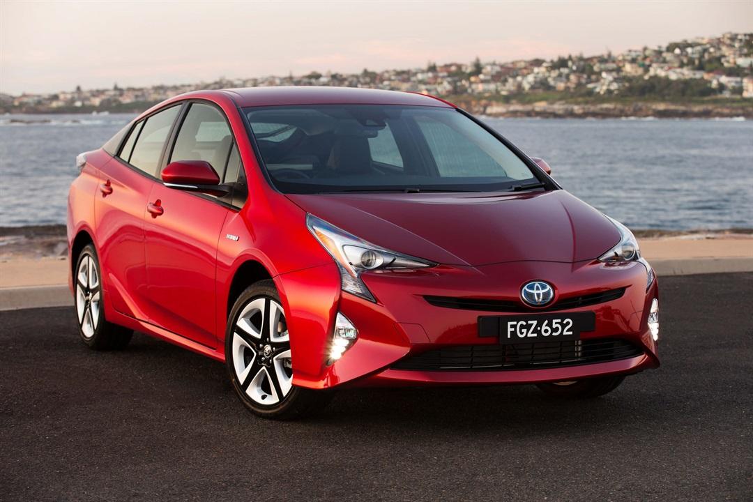 Toyota To Its 80 000th Hybrid Car In Australia Prius I Tech Shown