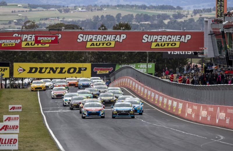 The TOYOTA GAZOO Racing Australia 86 Series will return to some of Australia's iconic race circuits for another two years through to end of 2022