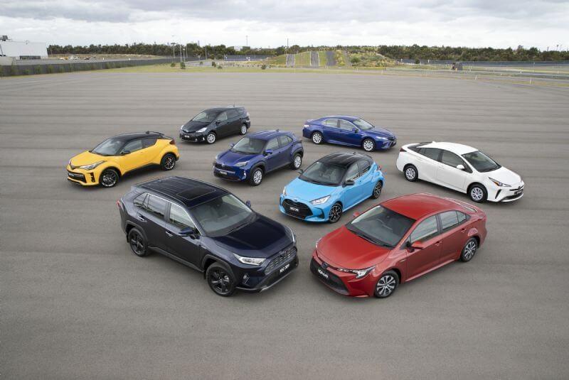 Toyota's Hybrid Range (January 2021)