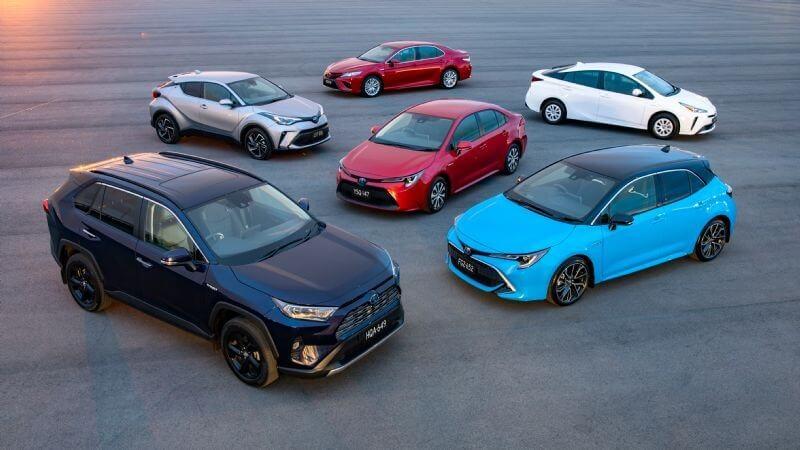 Toyota Hybrid vehicle range