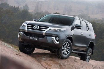 Toyota Fortuner from New Town Toyota