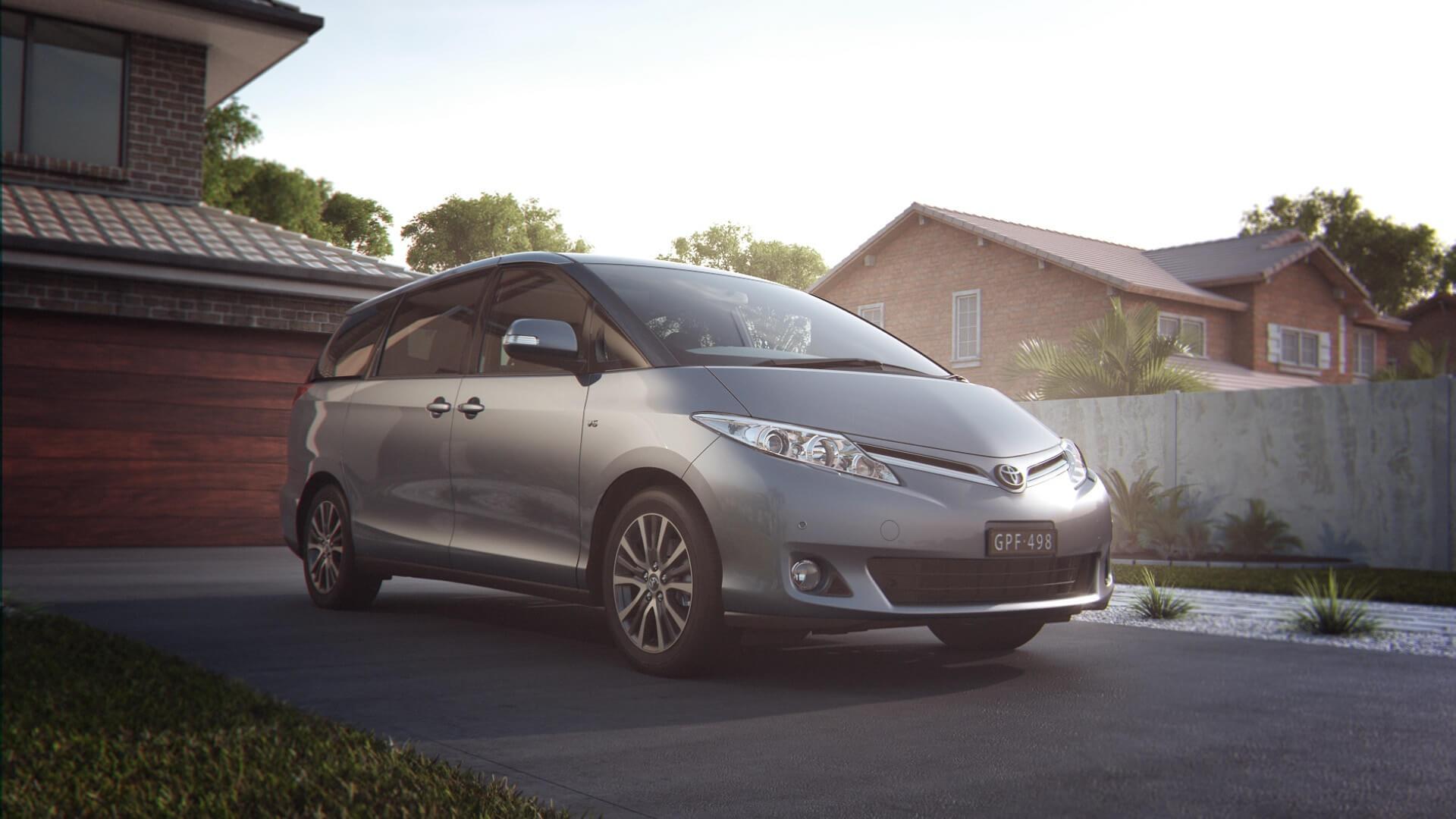 Toyota Tarago Design