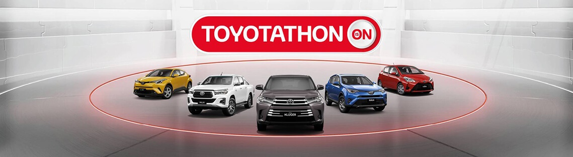 Toyotathon Is On At Airport Toyota