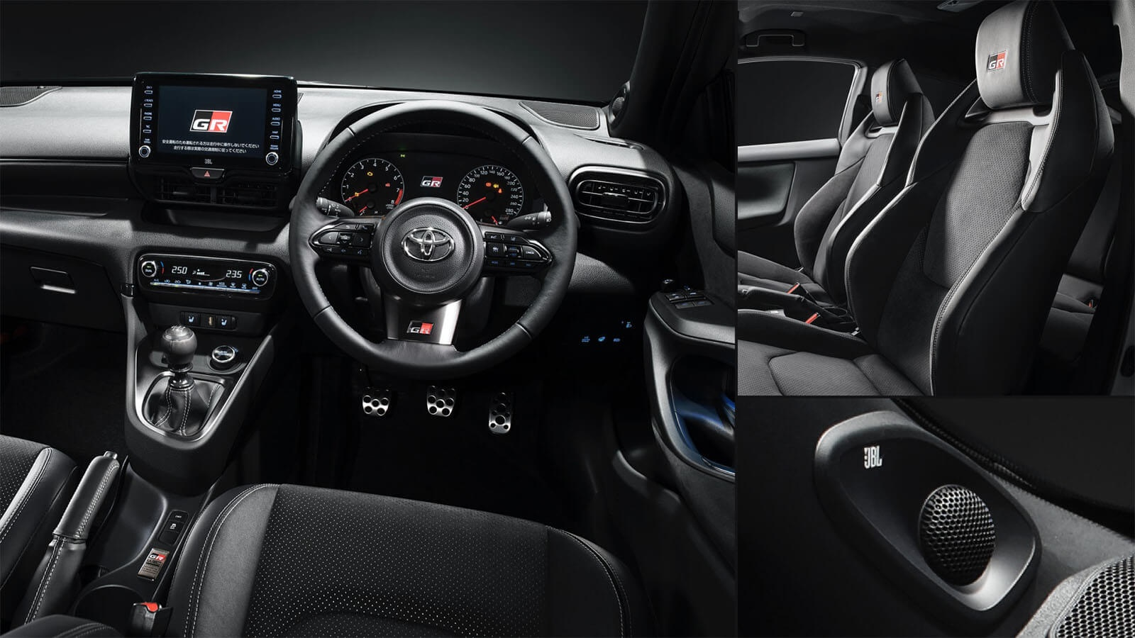 All-New Yaris GR Interior