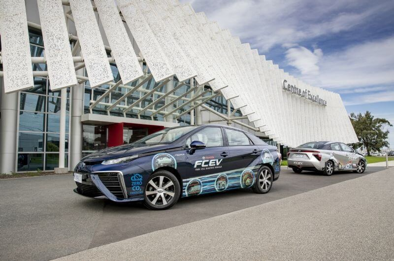Fuel-cell electric vehicles like Toyota Mirai require infrastructure investment