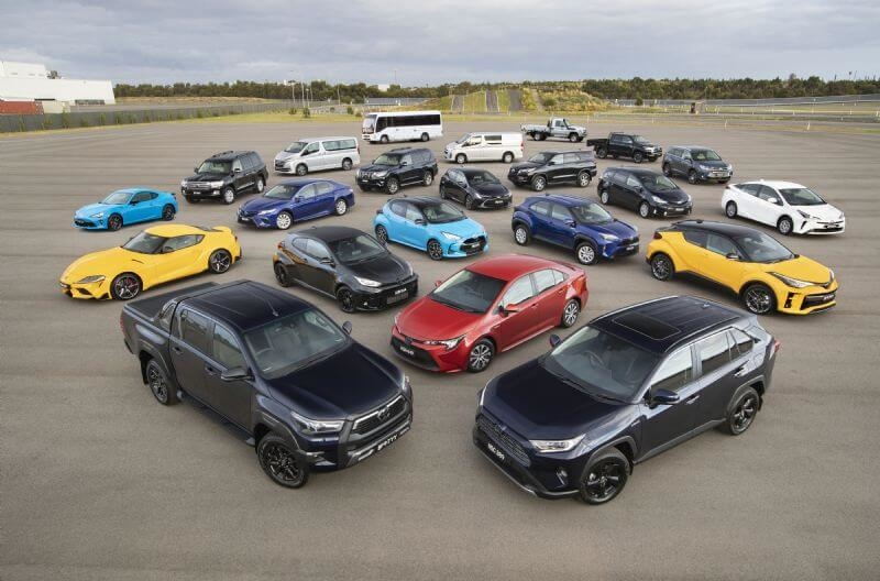 Toyota is Australia's most trusted car brand