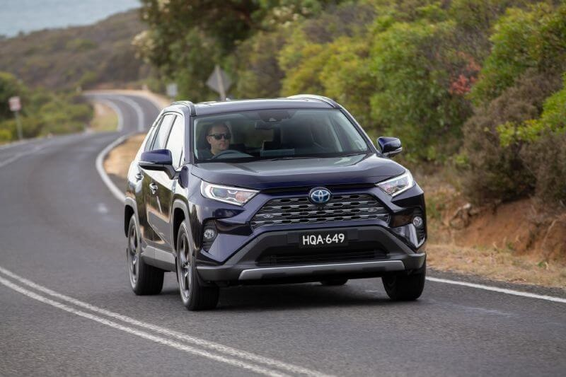 Toyota Australia has secured additional production of RAV4 Hybrid (RAV4 Cruiser Hybrid shown)