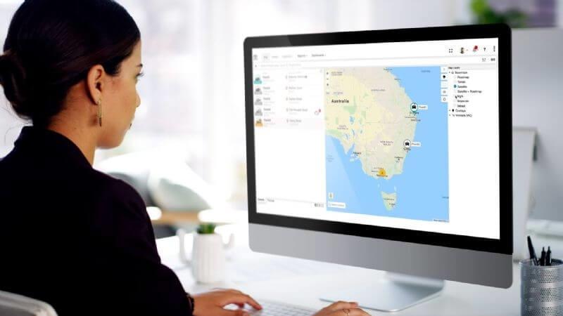 The new Toyota Halo fleet management platform enables control and optimisation of fleet operations