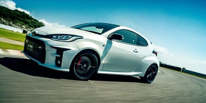 Toyota GR Yaris Rallye (overseas model shown)