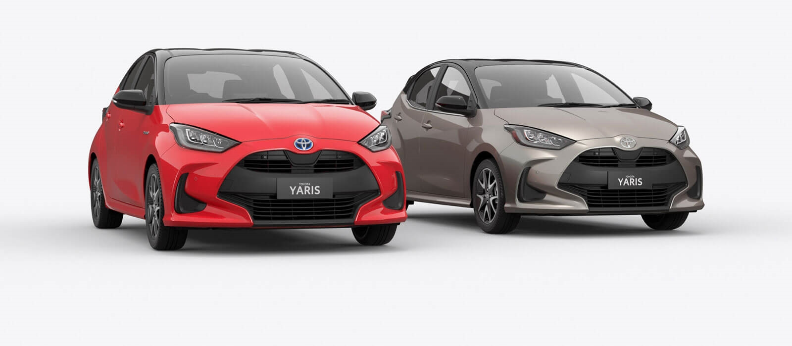 Yaris Hybrid and Petrol