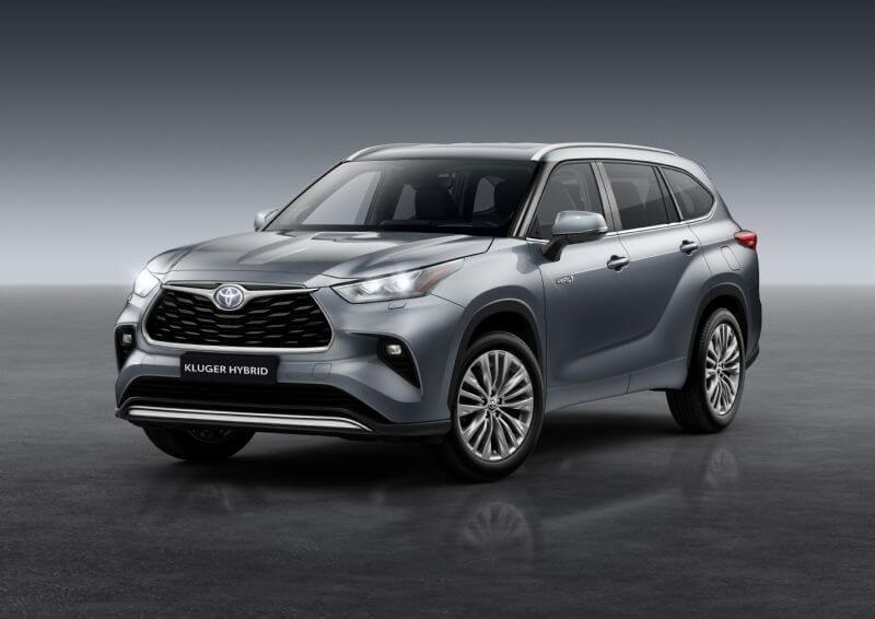 Hybrid technology has been confirmed for next year's Toyota Kluger (overseas model shown)