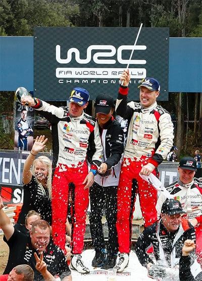 WRC Timeline