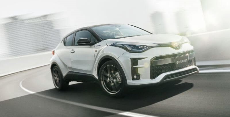 Toyota will expand its C-HR range when the GR Sport grade arrives in late November (overseas model shown)