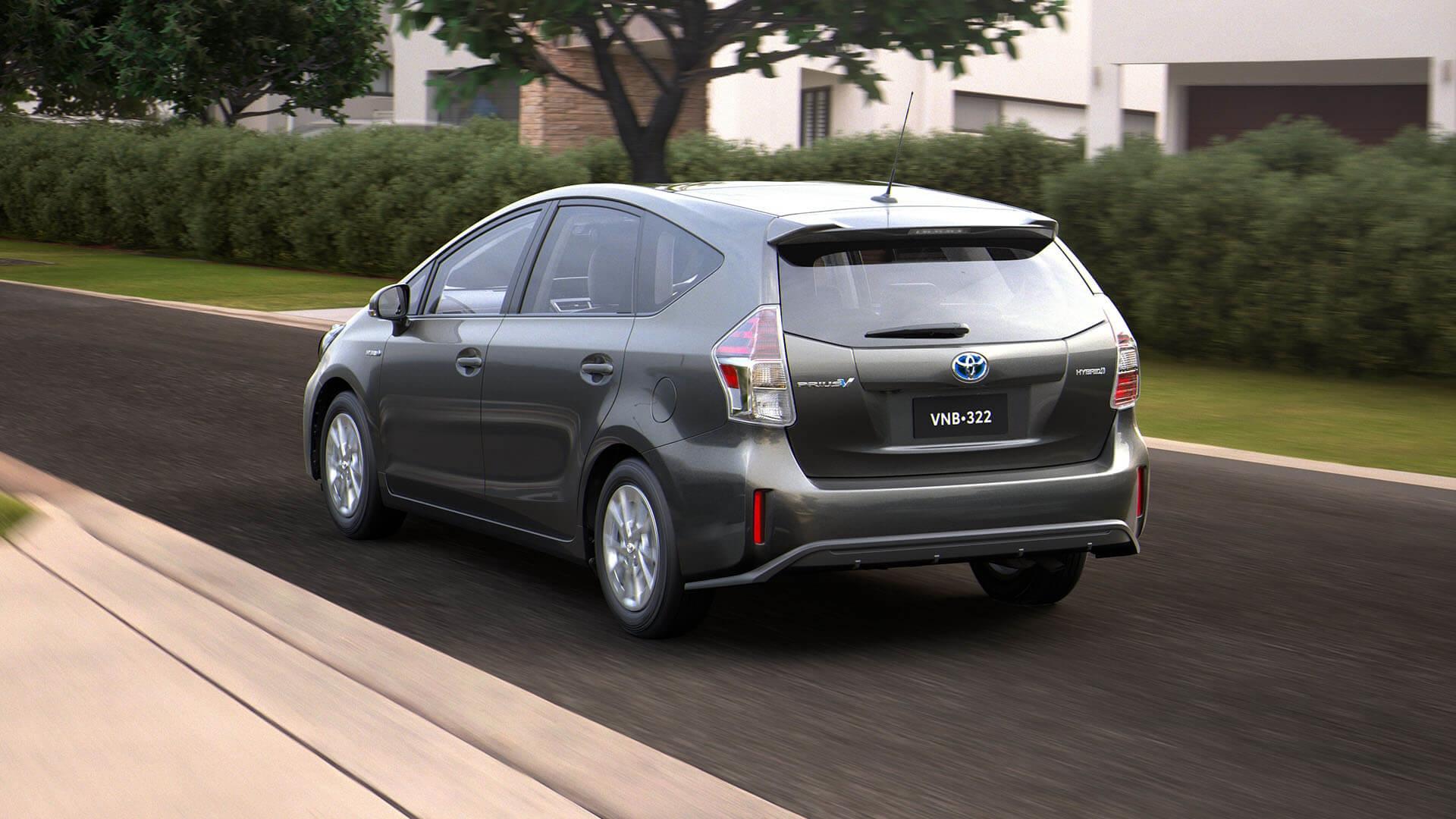 Toyota Prius V Performance