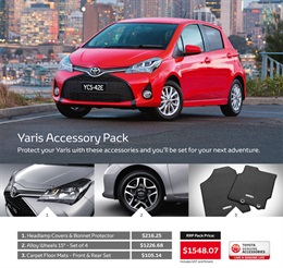 Toyota Yaris from Airport Toyota