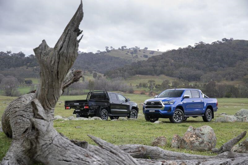 Toyota has upgraded its popular HiLux (SR5 Double Cab Chassis and Pickup pre-upgrade image shown. Vehicle shown fitted with optional Toyota Genuine accessories, sold separately)