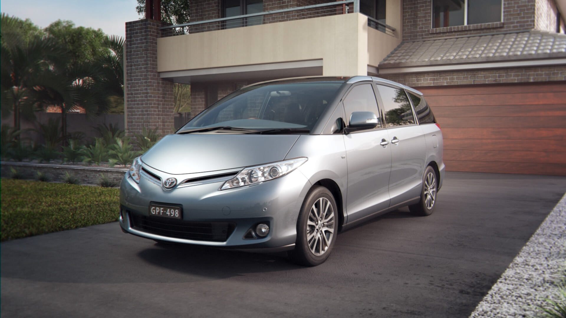 Toyota Tarago Technology