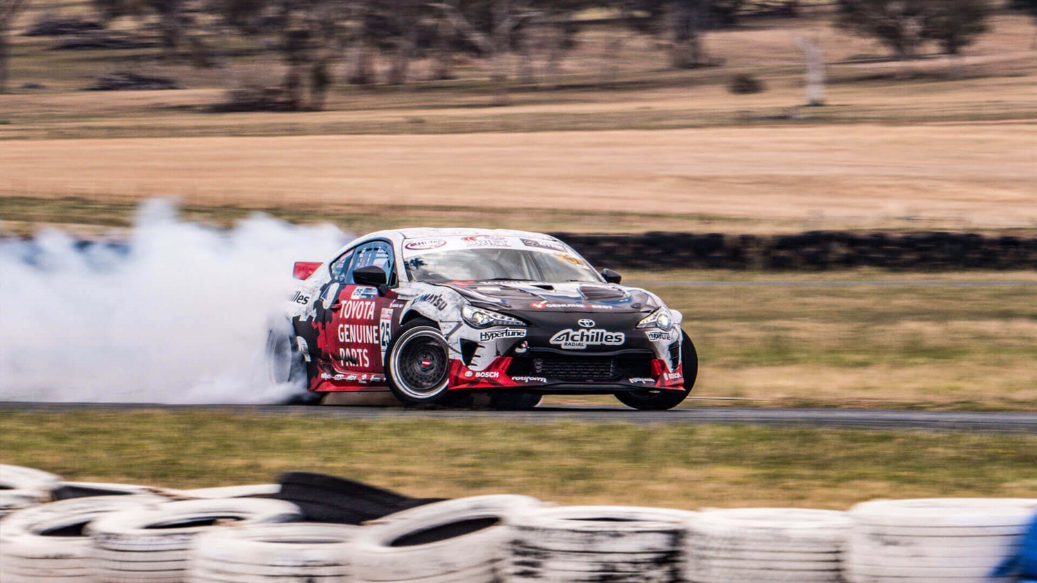 Beau Yates has won the 2018 Hi-Tec Drift AllStars Series championship title after two wins and a podium finish in every round.