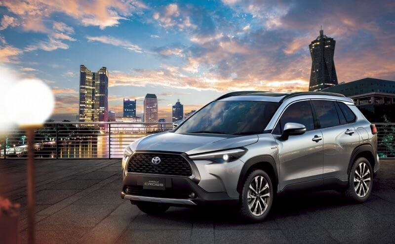 Toyota Corolla Cross global premiere (overseas model shown), details for Australia to be confirmed closer to launch in 2022)