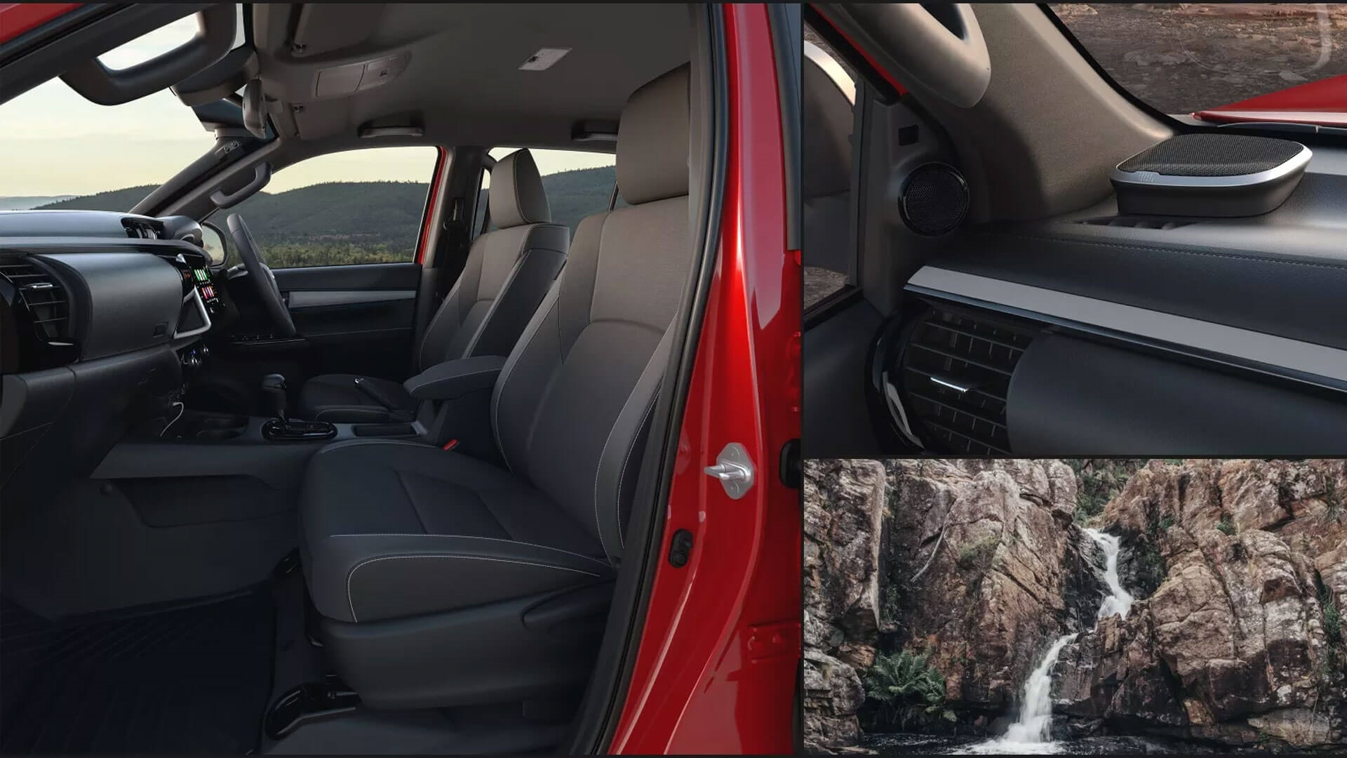 Toyota HiLux Rugged X Interior