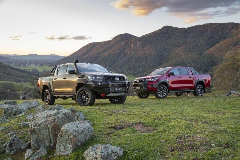 2020 Toyota HiLux Rogue and Rugged X