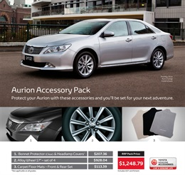 Toyota Aurion from City Toyota