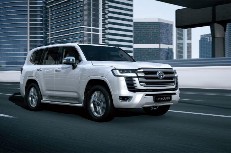 All New LandCruiser - Overseas pre-production model shown