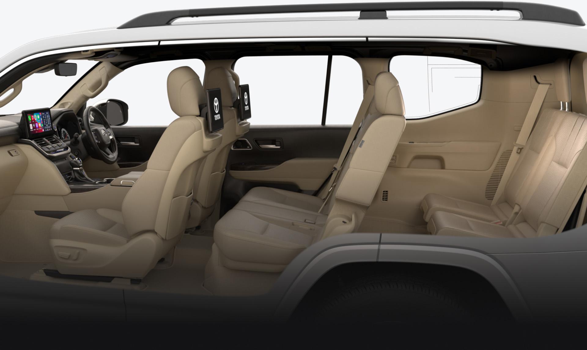 LandCruiser 300 Interior