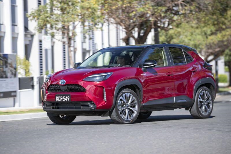 All-new Toyota Yaris Cross (Urban hybrid AWD shown)