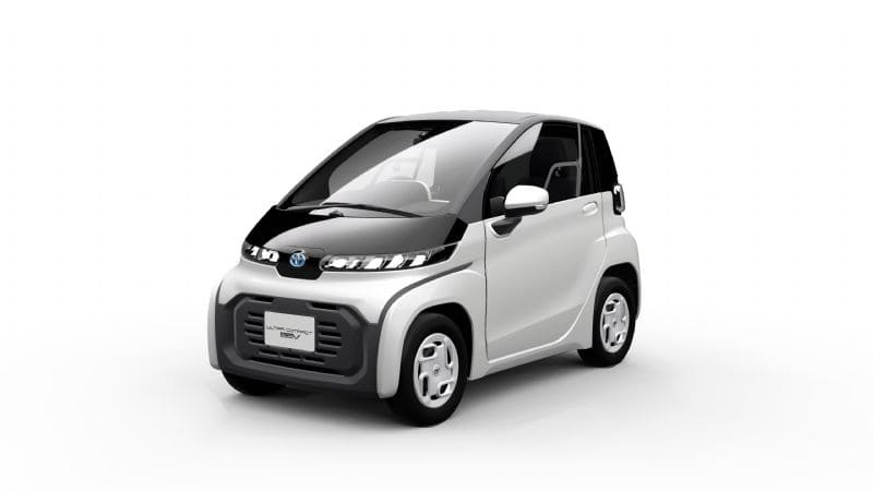 Toyota's ultra-compact BEV (overseas pre-production model)*