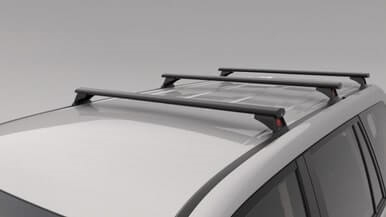 Roof Rack- 3 Bar Set - Heavy Duty - Non Roof Rail Type