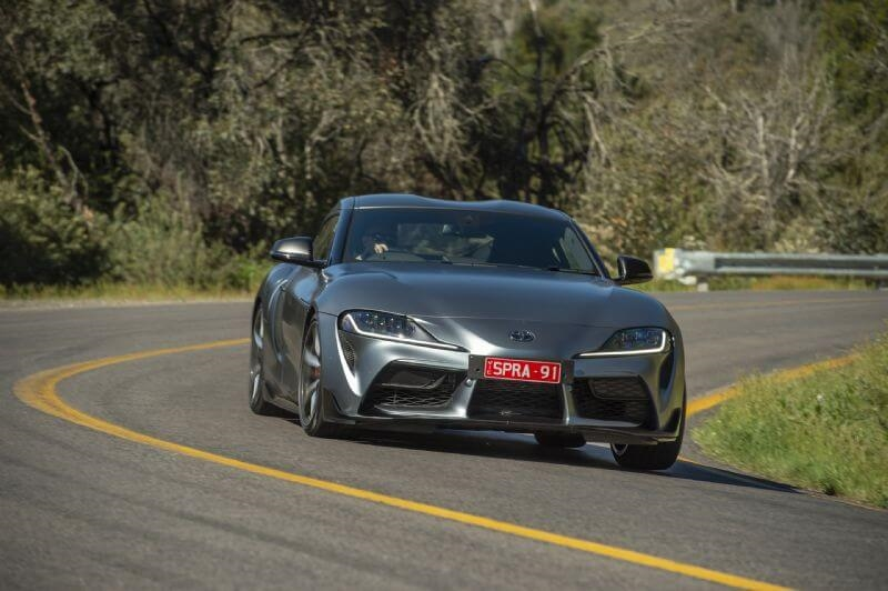 Toyota's upgraded GR Supra gains a 35kW power boost delivering improved sports car performance