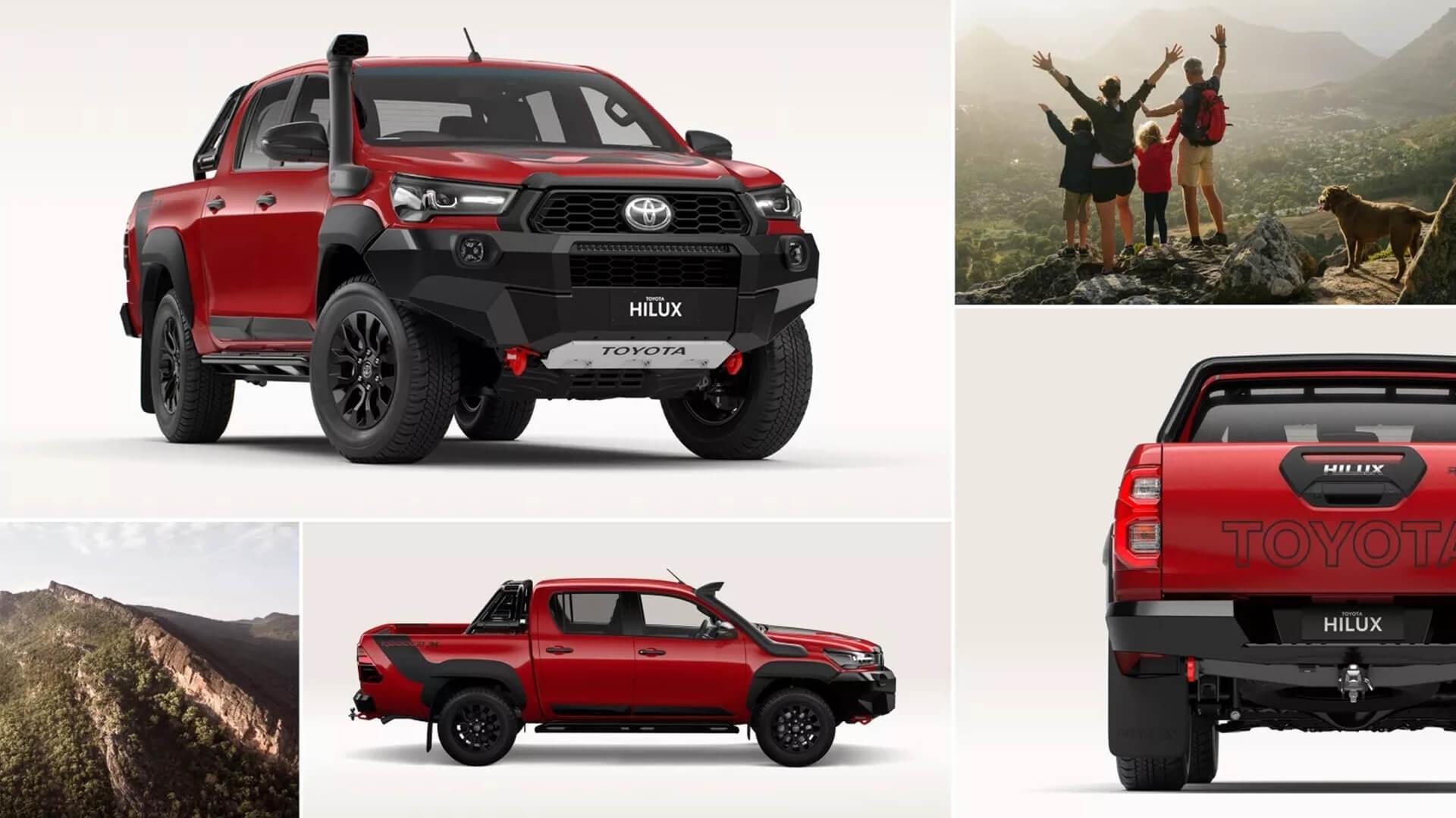 Toyota HiLux Design