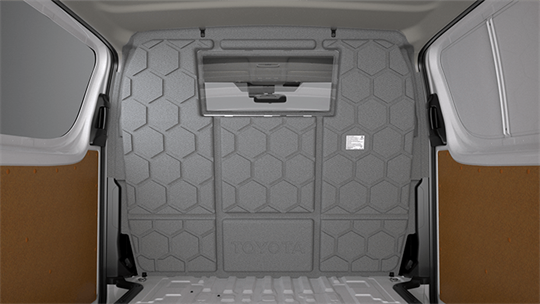 2008 on TAILORED RUBBER Car Floor Mats HEAVY DUTY TOYOTA HI-ACE VAN
