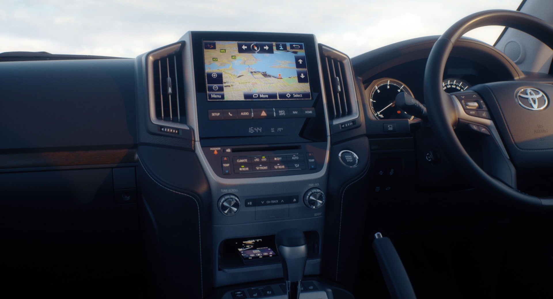 Toyota LandCruiser 200 Technology