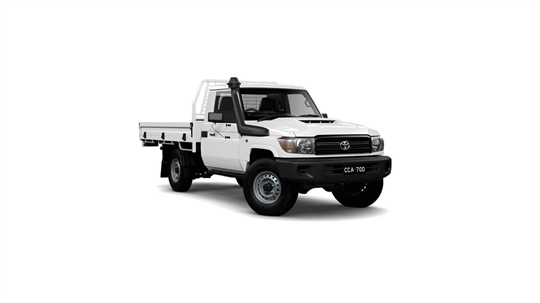 Toyota Landcruiser 70 Single-Cab Cab-Chassis