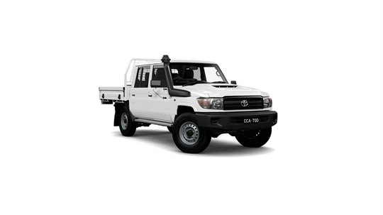 Toyota Landcruiser 70 Double-Cab Cab-Chassis