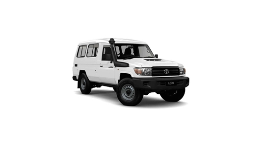 Toyota Landcruiser 70 Troop Carrier