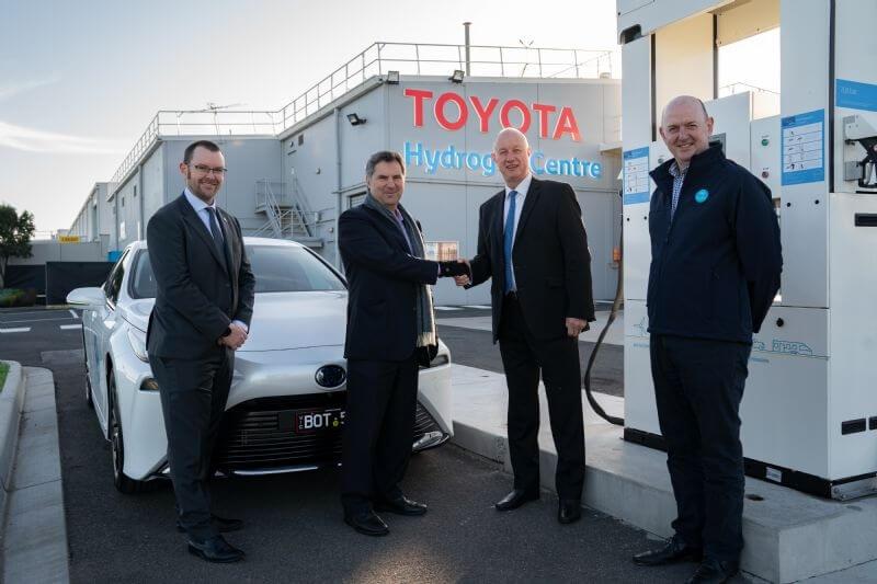 Toyota delivers first Mirai FCEV to CSIRO