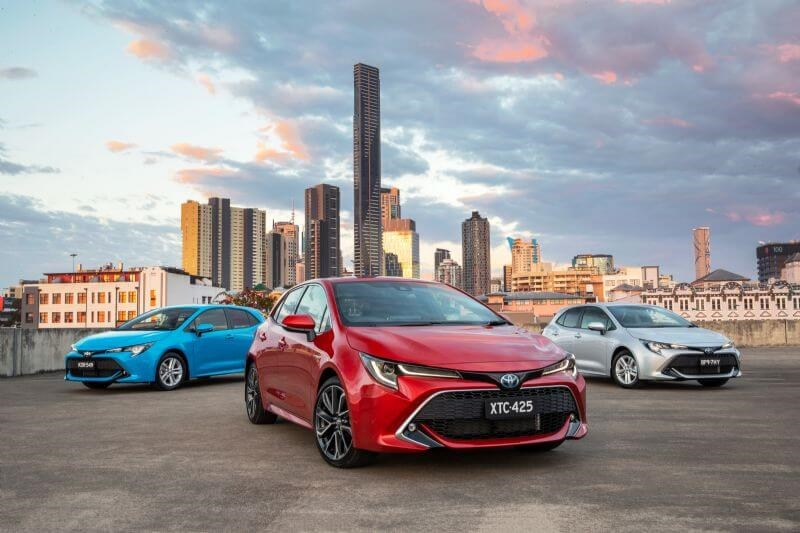 Toyota has sold 50 million Corollas worldwide and more than 1.5 million in Australia