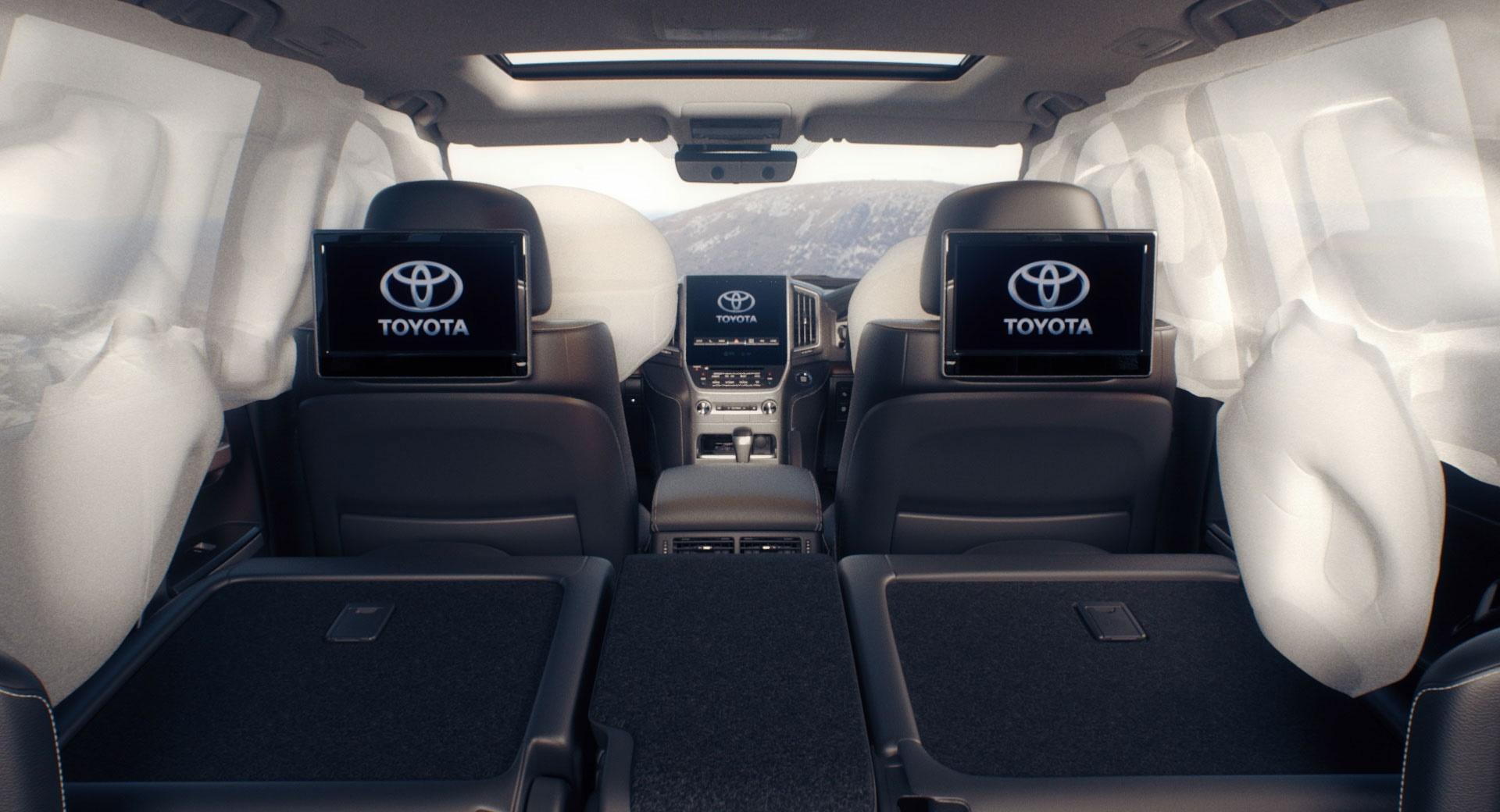 Toyota LandCruiser 200 Safety