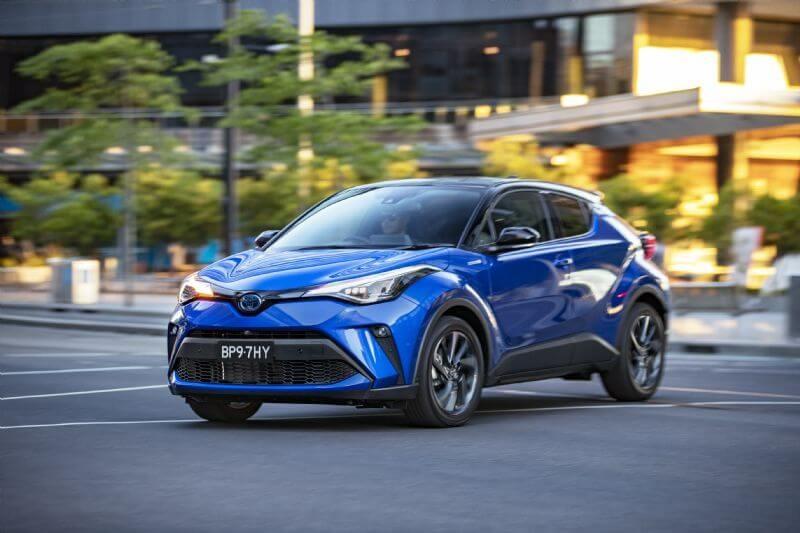 Toyota is boosting hybrid sales (2020 C-HR Koba Hybrid shown)