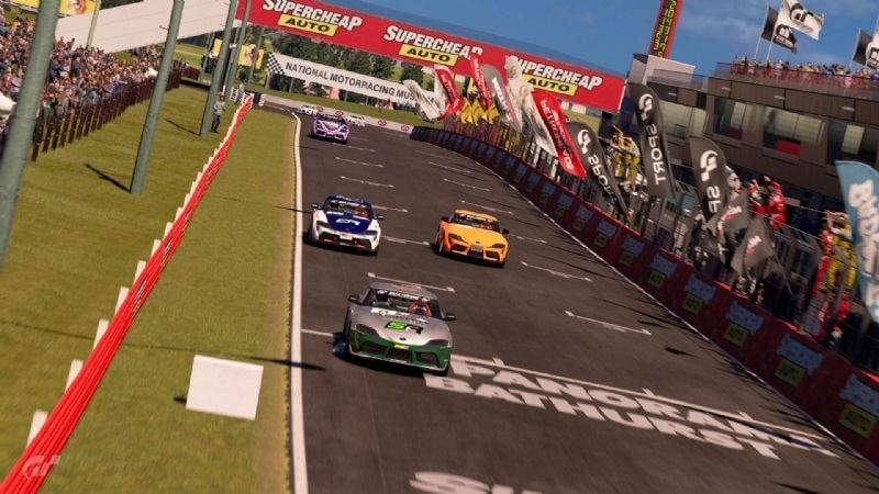 Drivers take on Mount Panorama at Bathurst in the final round of the GR Supra GT Cup
