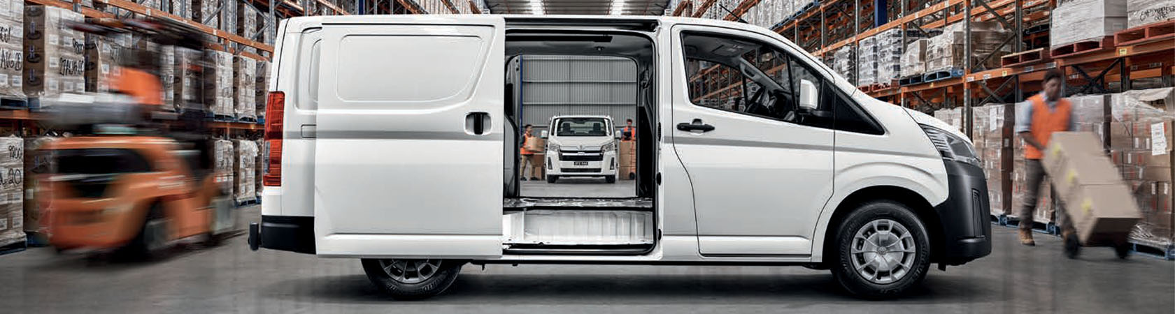 Phil Gilbert Toyota WorkHorse Range