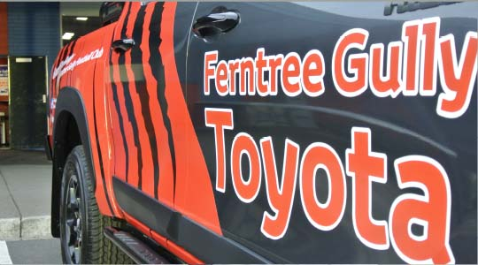 Sponsorships by Ferntree Gully Toyota
