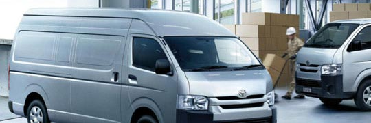 City Toyota HiAce Exterior Aerodynamic Design