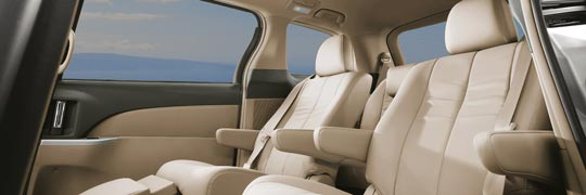 Windsor Toyota Tarago Ultima with Accommodating, Flexible and Inviting Interior